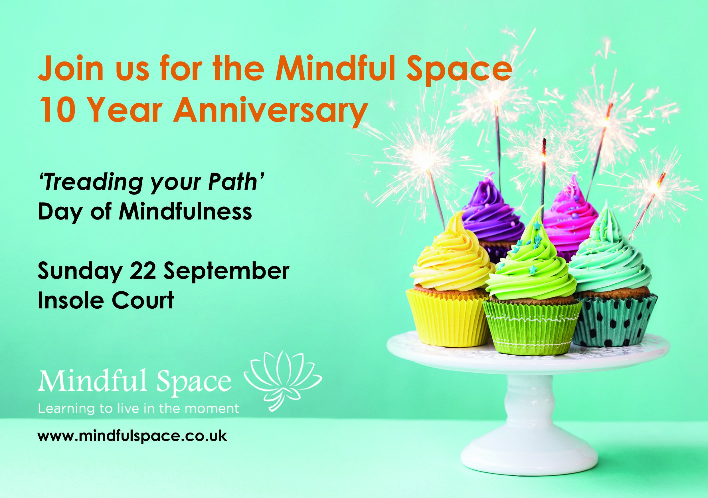 Course image for 'Treading your path' - A Day of Mindfulness, Mindful Space 10 year Anniversary